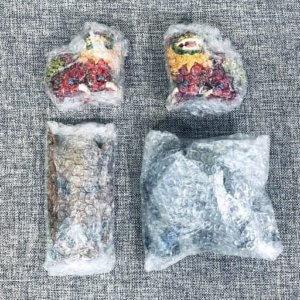 包装後の置物たち